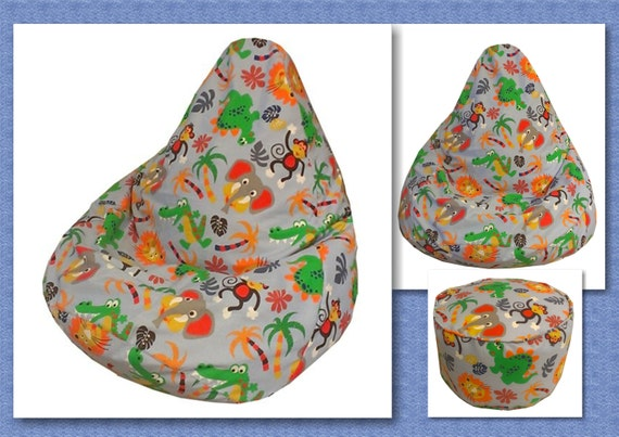 INSTANT DOWNLOAD Kids Bean Bag Sewing Pattern With FREE Etsy Beauteous Bean Bag Pattern
