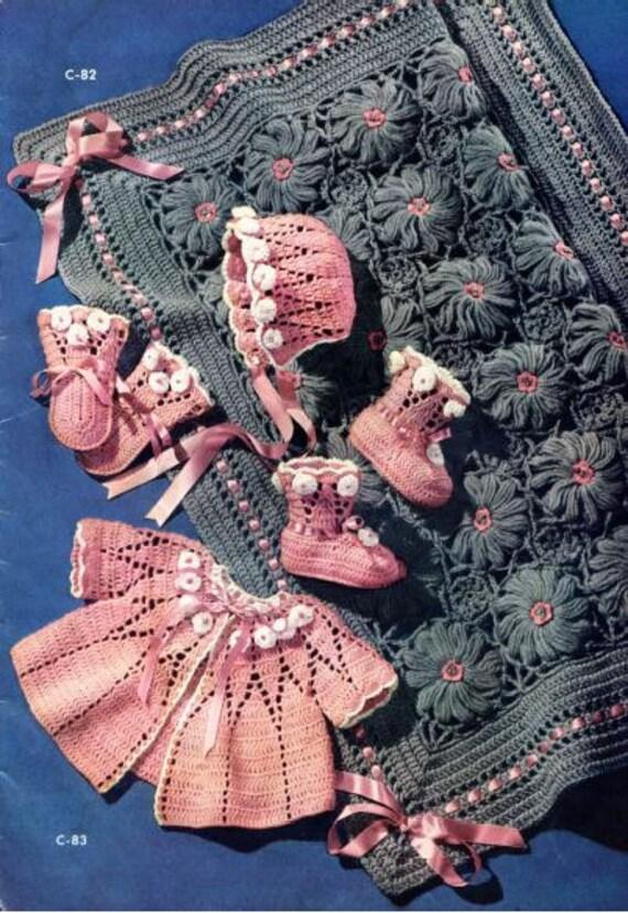 100 vintage chales mantas y cubiertas de cochecito de niño | Etsy