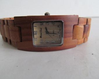 Unisex Wooden Watch Band Minimalist Watch Made out of Wood Watch womens wood watch womens Wrist watch  mens wooden watch Mens wrist watch