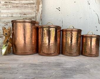 Copper Kitchen Decor Etsy