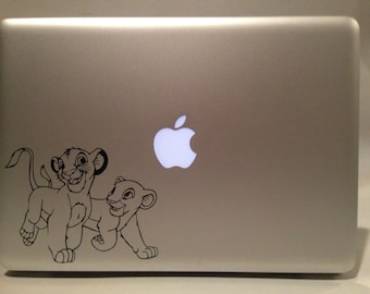 Disney's The Lion King Young Simba and Nala Vinyl Decal