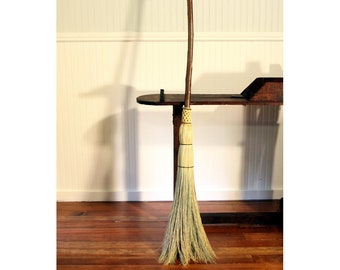 Western Hazel Branch Besom - Traditional Besom Broom - One Only - Free Shipping