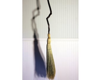 Contorted Birch Besom - Functional Art - Twisted Birch Branch - One Only - Free Shipping