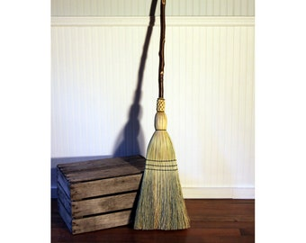 Western Hazel Porch Broom - Kitchen Broom - One Only - Free Shipping