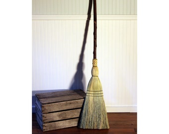 Heavy Weight Rustic Porch Broom - One Only - Free Shipping