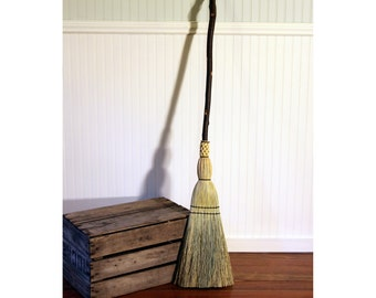 Contorted Mountain Alder Kitchen Broom - One Only - Functional Art -  Free Shipping
