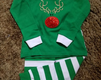 76a505a8d69b Rudolph pajamas