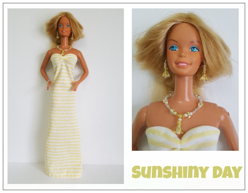 """Party Dress For 18/"""" Mattel SUPERSIZE Super Size Barbie Quality Made Clothes"""