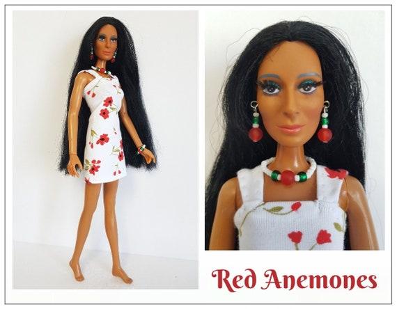 Fiber Art Cher doll