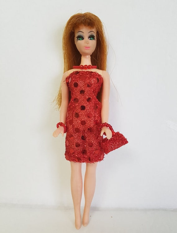 DAWN DOLL CLOTHES 9 Piece Lot Dresses and Jewelry Fashions NO DOLL dolls4emma i