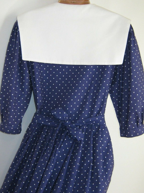 LAURA ASHLEY Vintage Edwardian Sailor Seaside 30s… - image 10