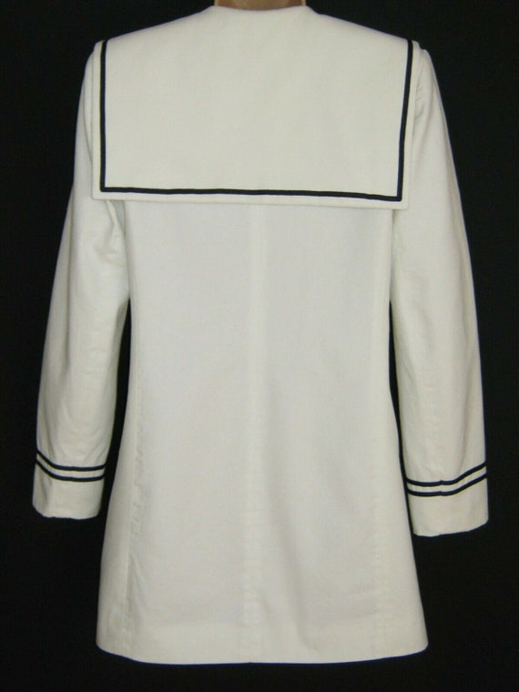 LAURA ASHLEY Vintage 80s Edwardian Sailor Nautica… - image 7