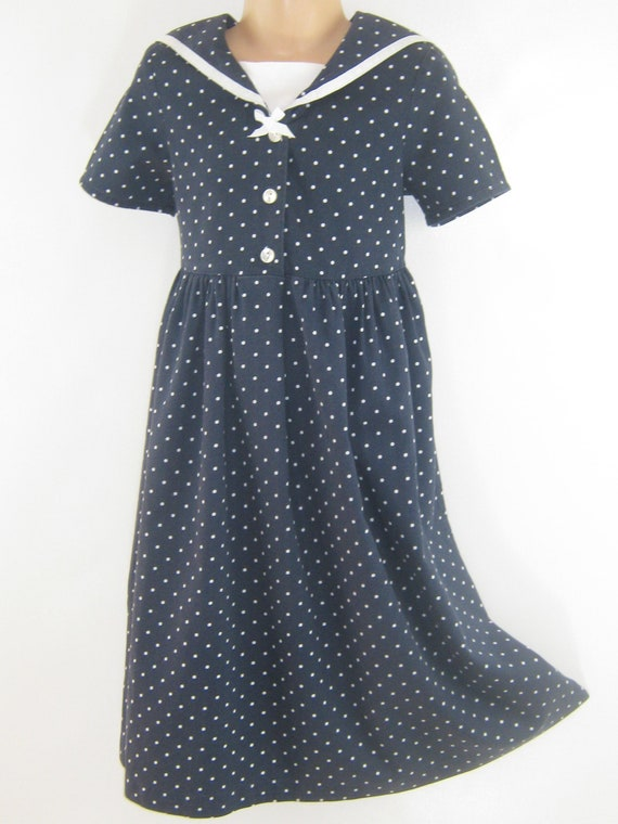 LAURA ASHLEY Vintage Mother&Child Label Polka Dot