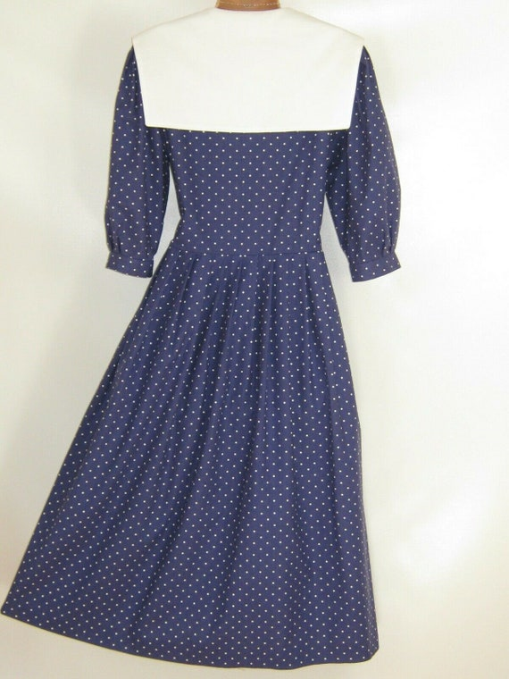 LAURA ASHLEY Vintage Edwardian Sailor Seaside 30s… - image 9