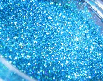 Teal Prism Glitter, Extra-Fine Hex Cut