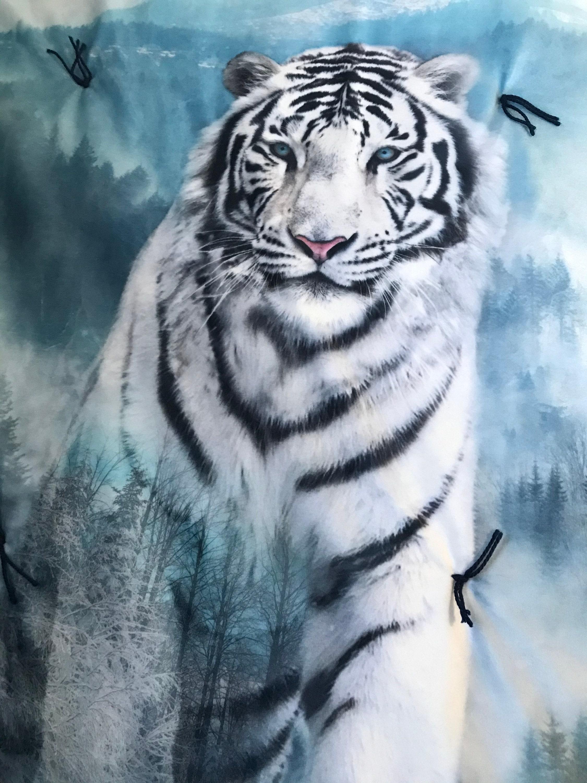 Couverture sibérienne d'oreiller de Tigre Minky