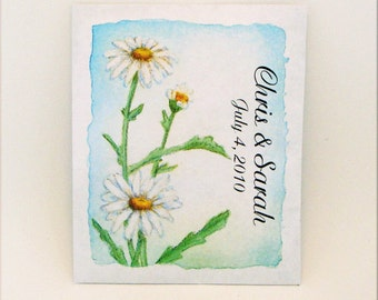 Custom Orders Only - Flower Seed Packet - Seed Packet - Wedding Favor - Party Favor Seed Packet - Customized - Flower - Daisy