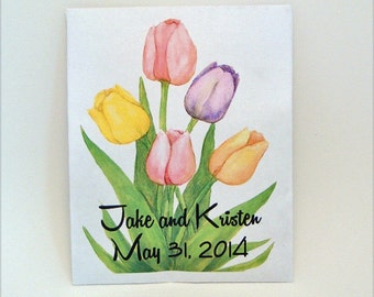 Custom Listing Only - Tulip Wedding - Seed Packet - Flower Seed Packet - Tulip - Wedding Favor - Party Favor Seed Packet