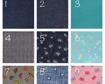 Denim Fabric Available in 9 Styles