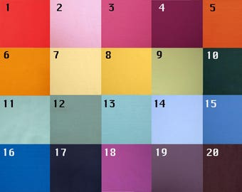 Matte Lycra Fabric Available in 20 Colors