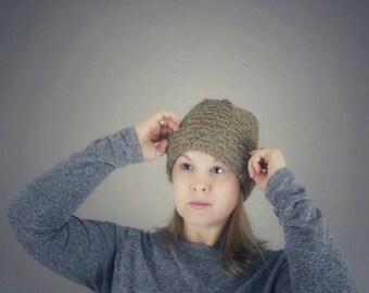 Knit Hat Textured Watch Cap