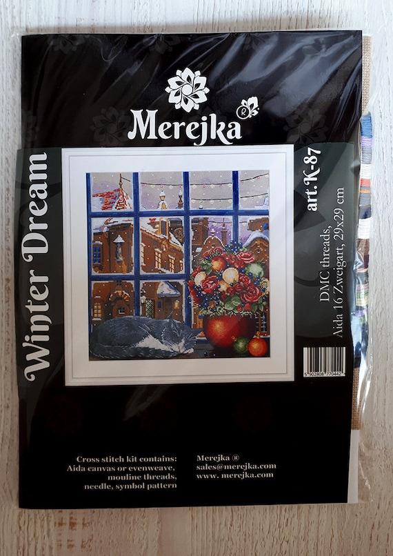 /Winter Dream Merejka kit punto croce/