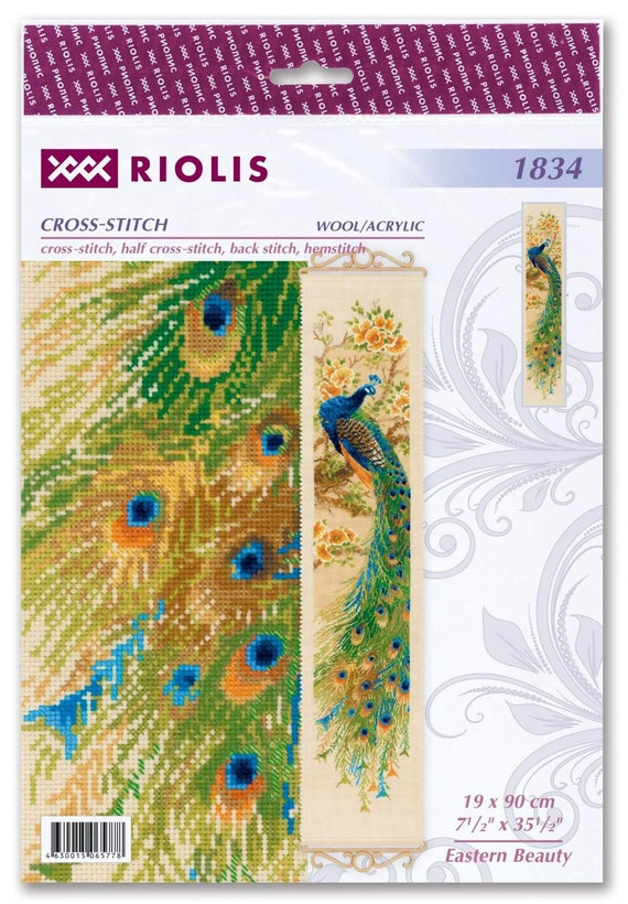 "Counted Cross Stitch Kit RIOLIS 1834 /""Eastern Beauty/"""