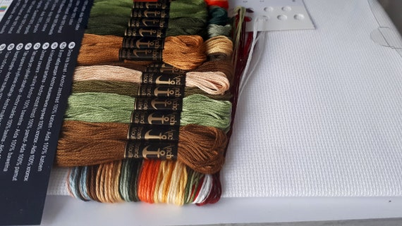 Puntada cruzada contada Kit Anchor-Maia Colección-empedradas Navidad