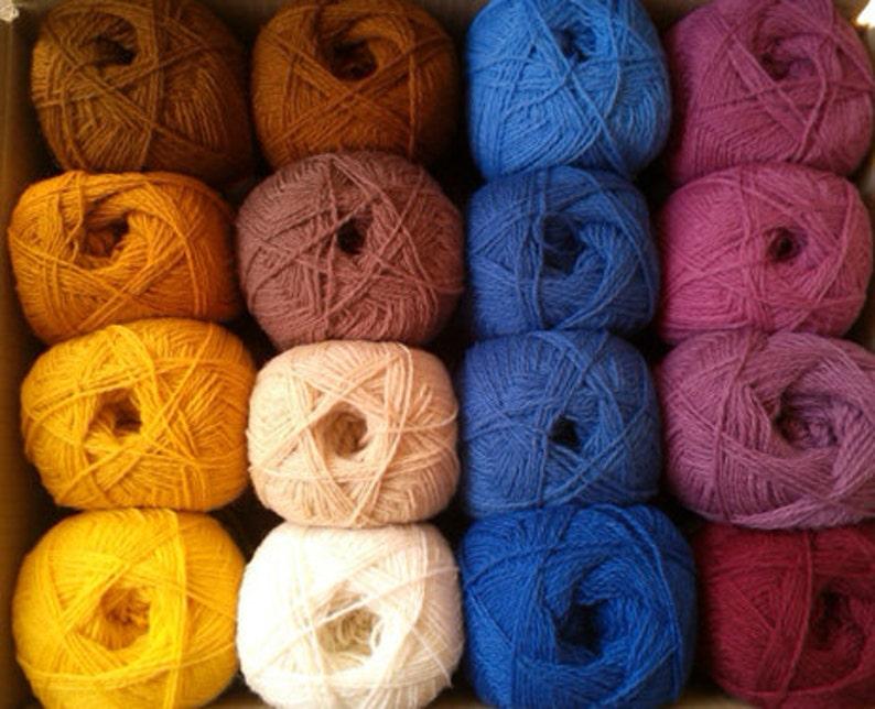 purple #249 WOOL yarn 100/%-knitting yarn