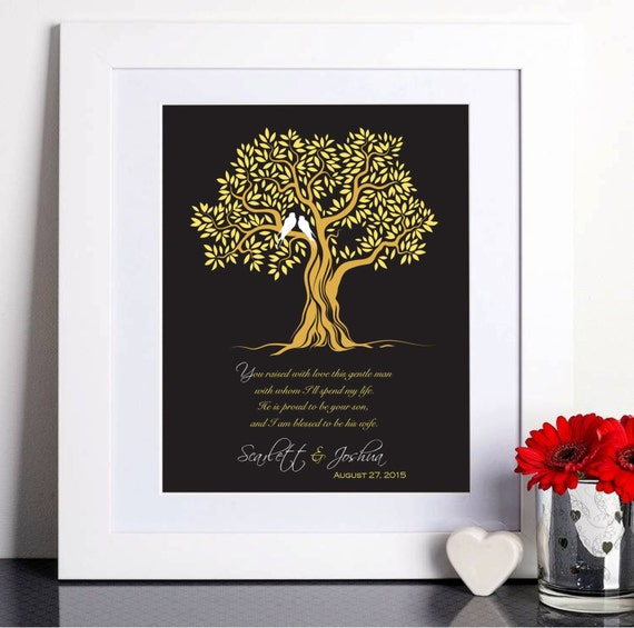 Wedding Gift For Mother In Law: Wedding Gift For Mother In-Law Thank You Gift Mother Of