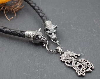 Pendant Necklaces Jewelry & Accessories Obliging Men Viking Amulet Axe Rune Wolf Raven Pendant Axe Necklace