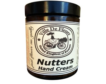 Nutters Hand Cream - choose from No Scent or 6 different scents Gift for her Gift for him