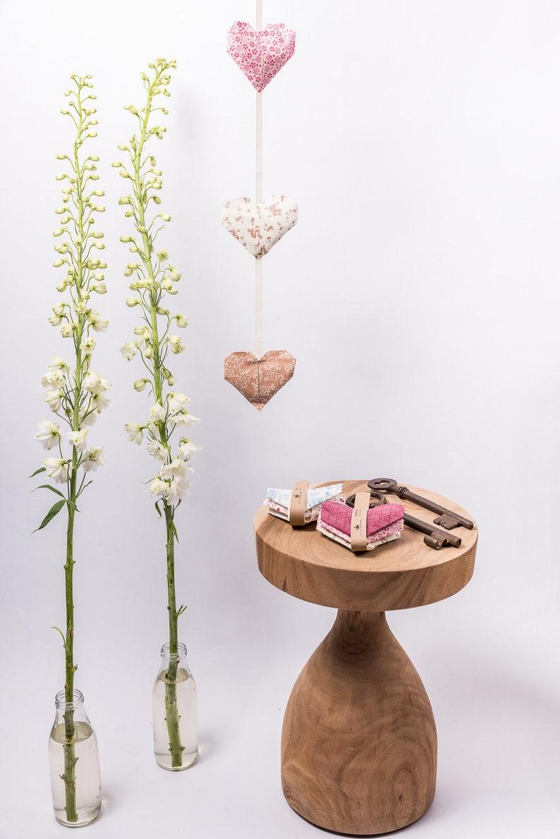 Heart Garland Origami Heart Home Decor Valentine S Gift Valentine S Day Decor Home Decor Wall Art