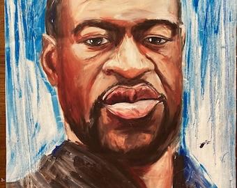 George Floyd/ Say Their Names canvas prints benefiting Portland Action Medics