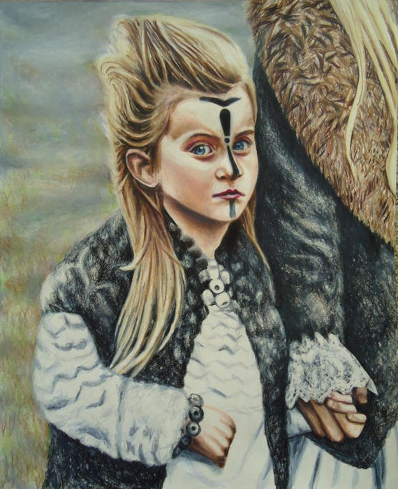 Gothic Art Original Viking Child Face Paint