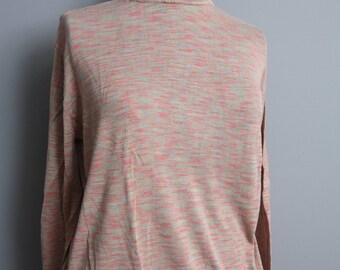 Vintage long sleeve turtleneck sweater XL