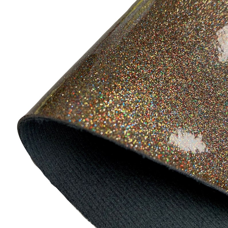Sparkle GLOSSY Fabric Sheet Synthetic Fabric Sheet-A4 or Faux Leather Fabric Material-DIY Hair Bows .8mm Thick PU Leather