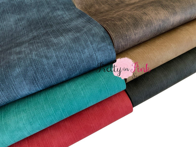 Thick Waterproof Canvas Fabric Material A4 or A5 Sheets for Crafts Art /& Bows