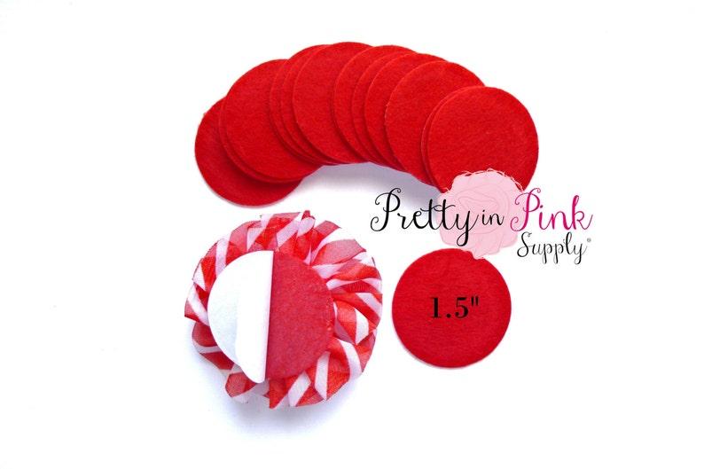 Wool Felt Circle Wholesale Red Felt Circles 1.5 Inch Felt Circles Die Cut Felt Circle 1.5 Felt Circles Self Adhesive Felt Circle