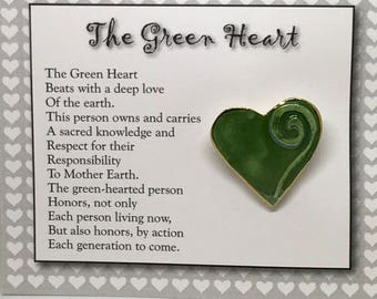 A heart for the Earth