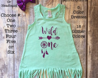 Wild One Shirt, first birthday Dress, first birthday outfit, 1st birthday, cake smash outfit, girls birthday shirt, one shirt, Beach Dresses