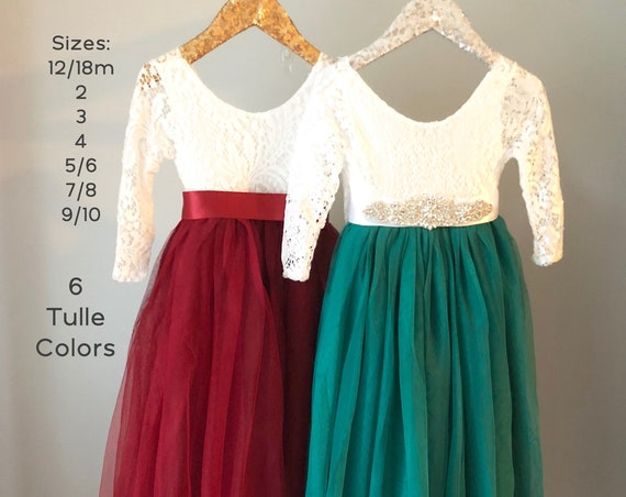 christmas dresses holiday dresses flower girl dresses long sleeve flower girl dress burgundy blush flower girl green red ivory flower girl