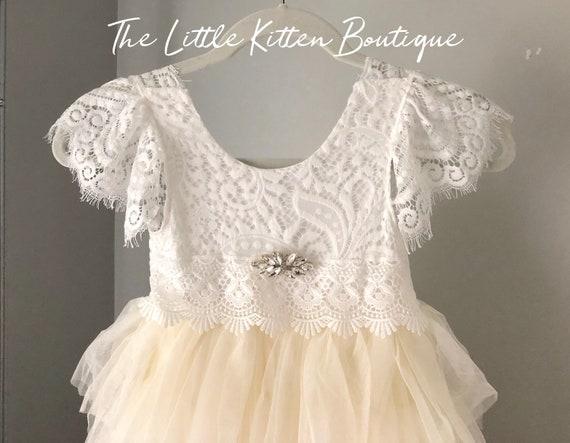 Girls first birthday dress, Girls tulle Christmas dress, baby girls holiday dress, girls lace and tulle dresses, girls pink birthday dress