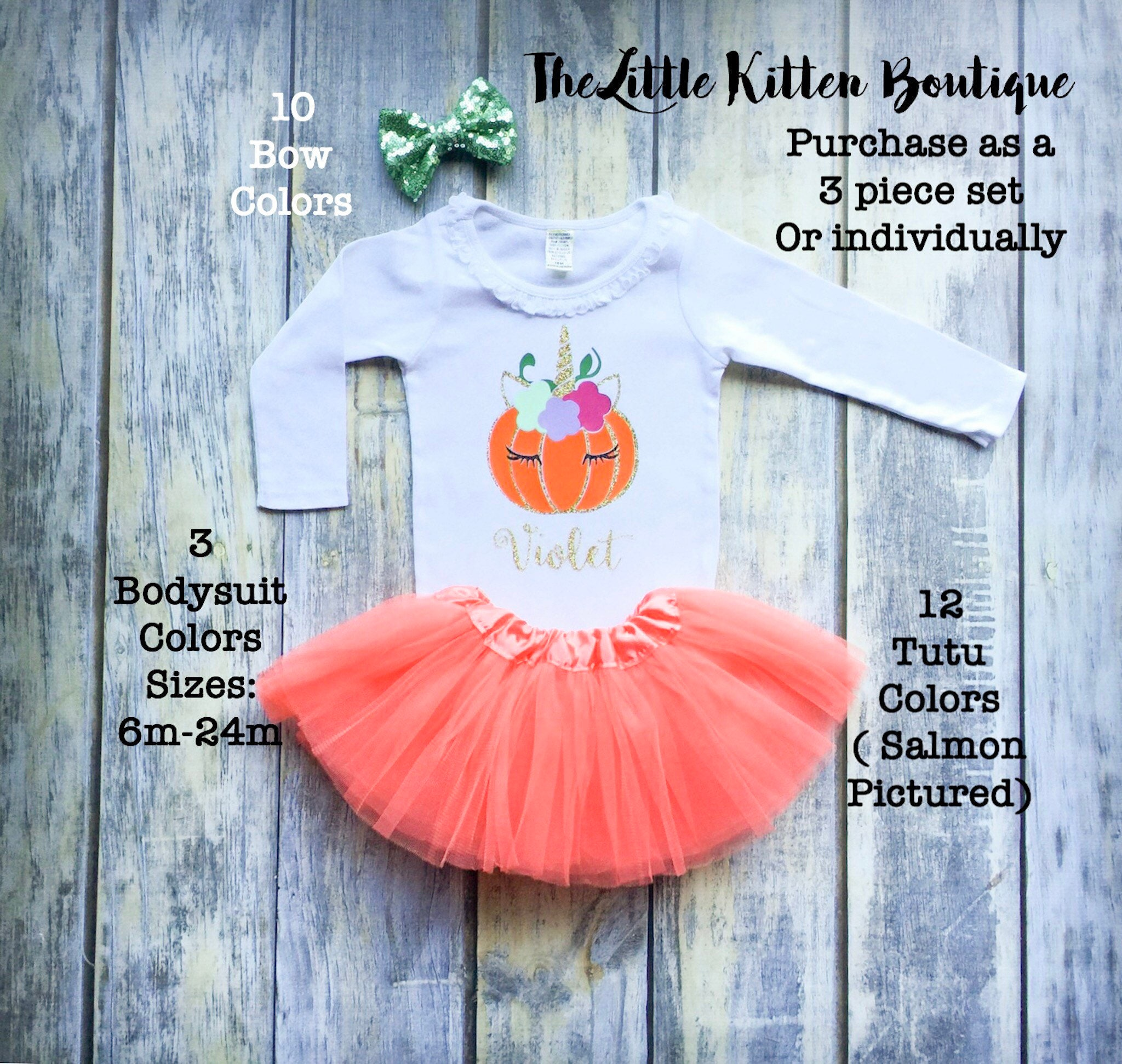 58c3d11929657 Baby girls Unicorn Shirt, Babys first halloween outfit, babys first  thanksgiving outfit, Cutest pumpkin in the patch, girls tutu outfit