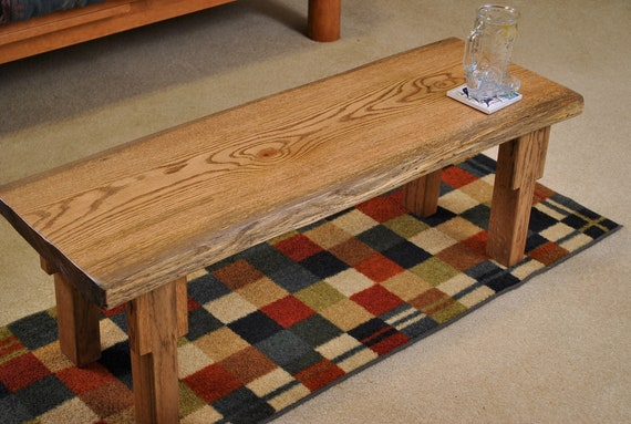 Red oak Coffee table, 42""