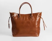 Leather bag, Leather tote, Luxury Leather Handcrafted tote