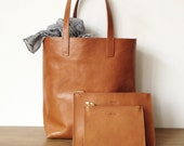 Molly Shopper Light Brown - with small and medium pouch