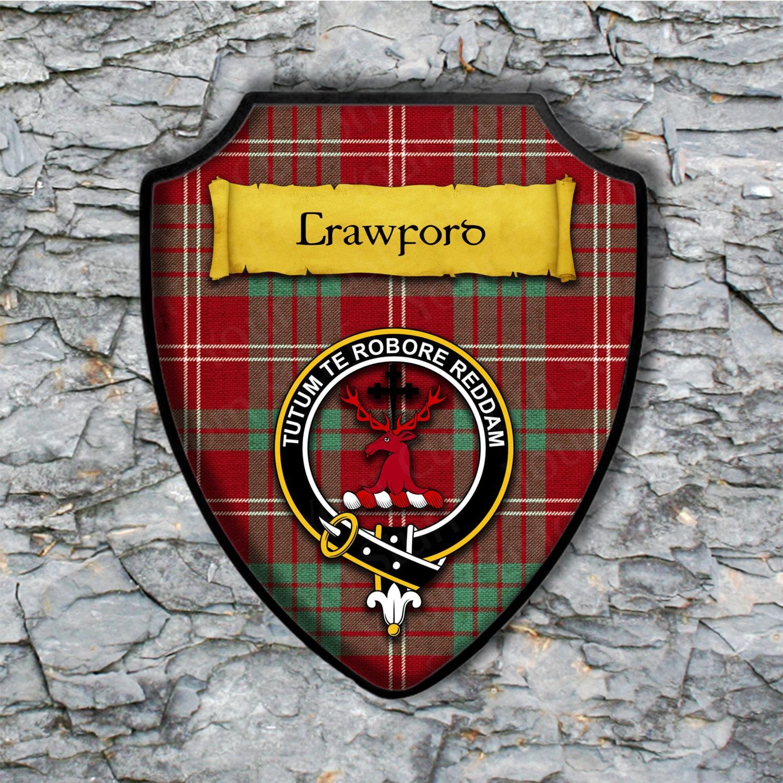 Lennox Clan Crest Badge Skye Decanter
