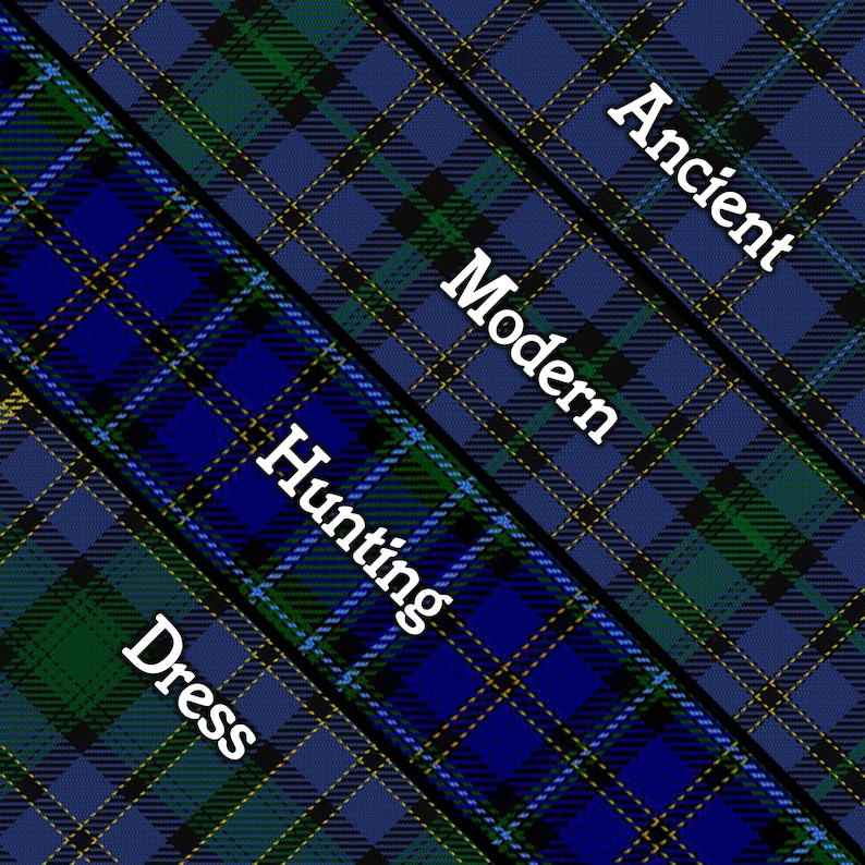 Weir Shield Plaque with Scottish Clan Coat of Arms Badge on Clan Plaid  Tartan Background Wall Art