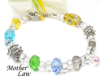 Mother In Law Bracelet Mothers Day Gift Idea For Birthday A106